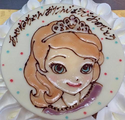 大人気のキャラクターケーキは3営業日前までの受付です☆